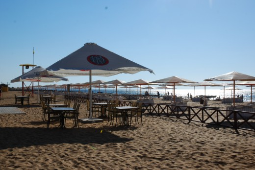 beregovoe beach alye parusa