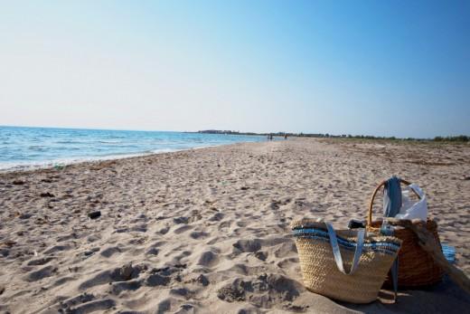 Штормовое пляж