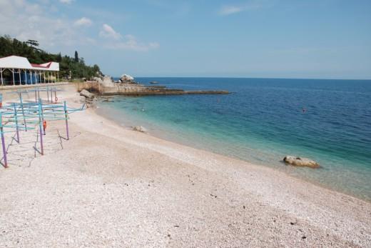 sanatornoe beach