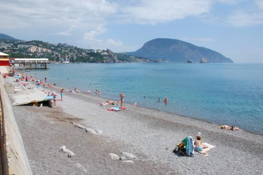 gurzuf beach