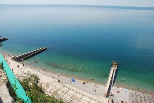 gaspra dnepr beach