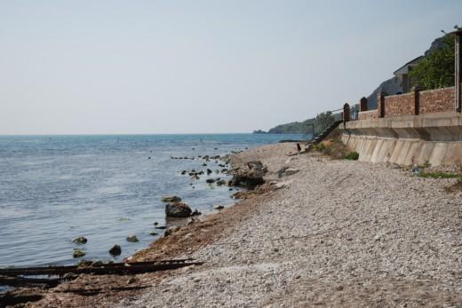 Koktebel beach