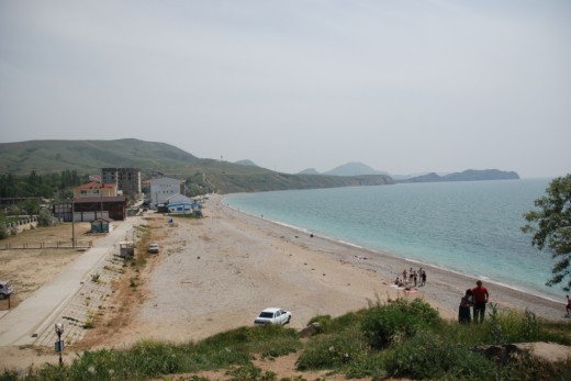 Koktebel beach