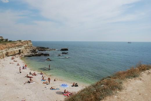 sevastopol golubaja buhta beach