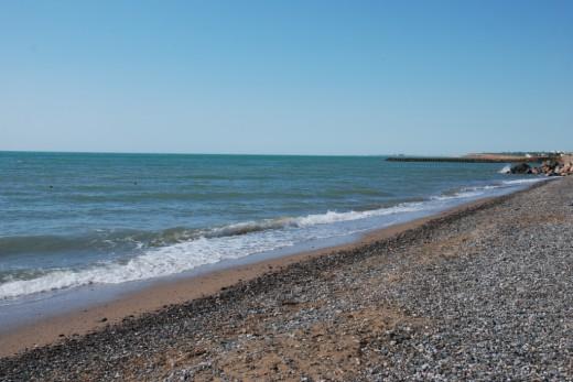 Peschanoe Brigantina beach