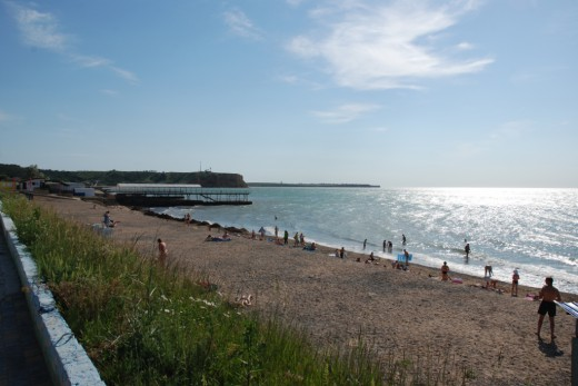 Peschanoe 3 beach