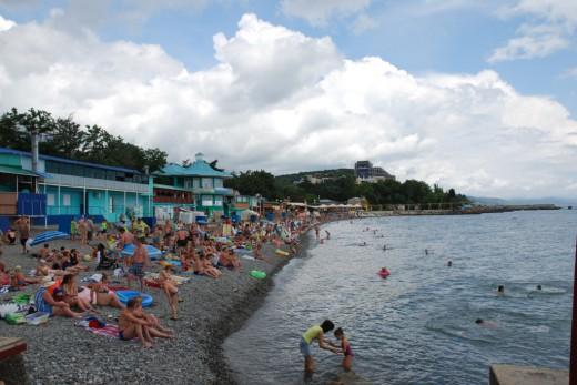 Alusta Laskovy bereg beach
