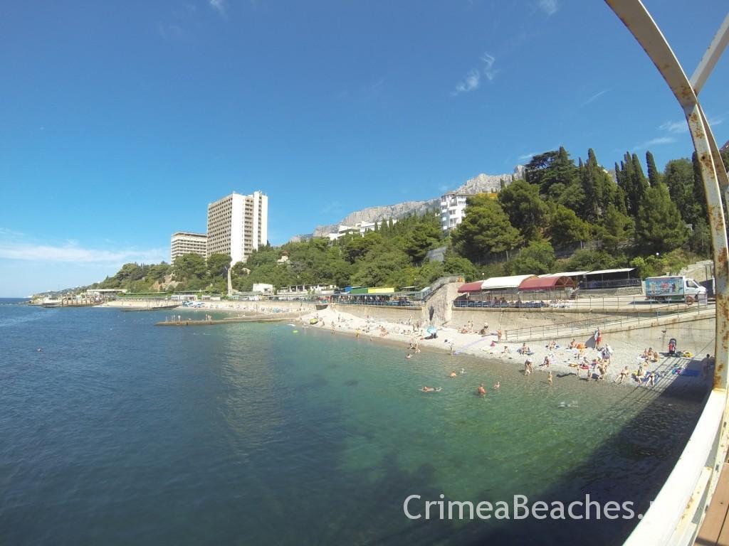 Crimea Miskhor Ay-Petry beach